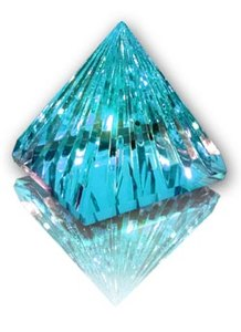 Pyramide turquoise